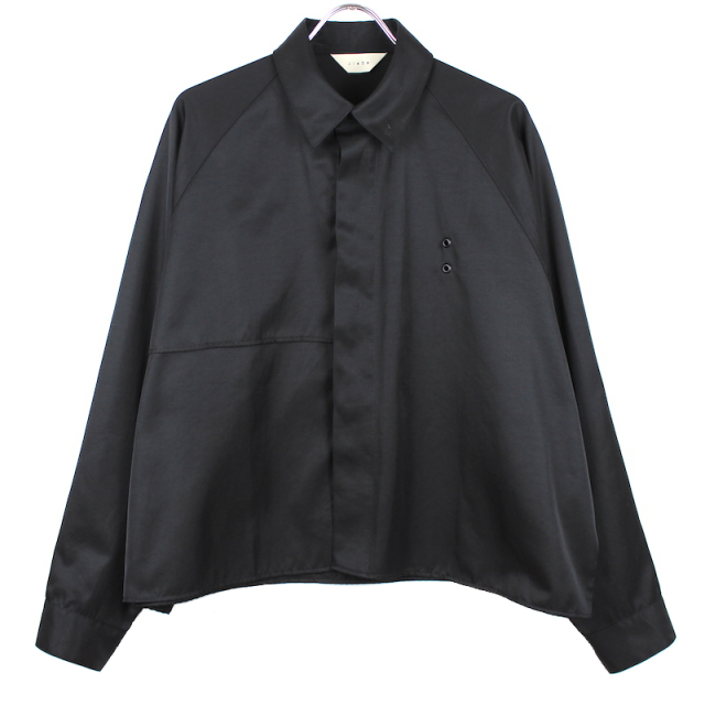 JIEDA TRENCH SHIRT BLACK