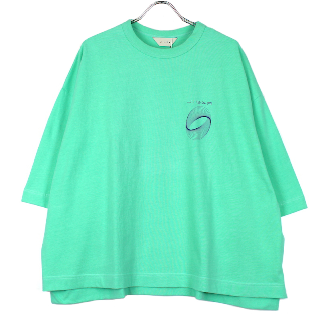 JIEDA CIRCLE PRINT T-SHIRT MINT