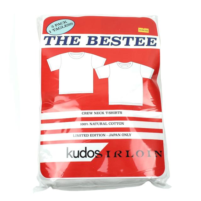 KUDOS/SIRLOIN T-SHIRT 3pack
