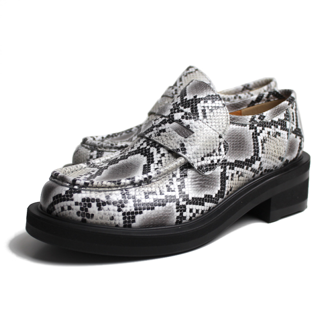 JIEDA SNAKE LOAFERS