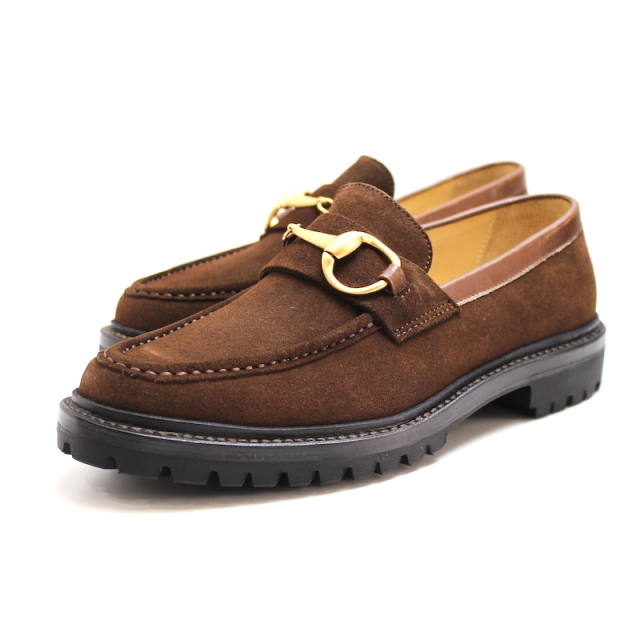 YSTRDY's TMRRW BIG HORSE BIT SHOES COMMANDO SOLE BROWN