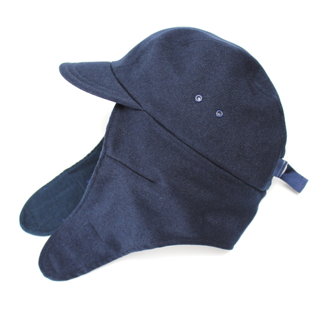 YSTRDY's TMRRW WOOLLY TWILL PHAT CAP NAVY
