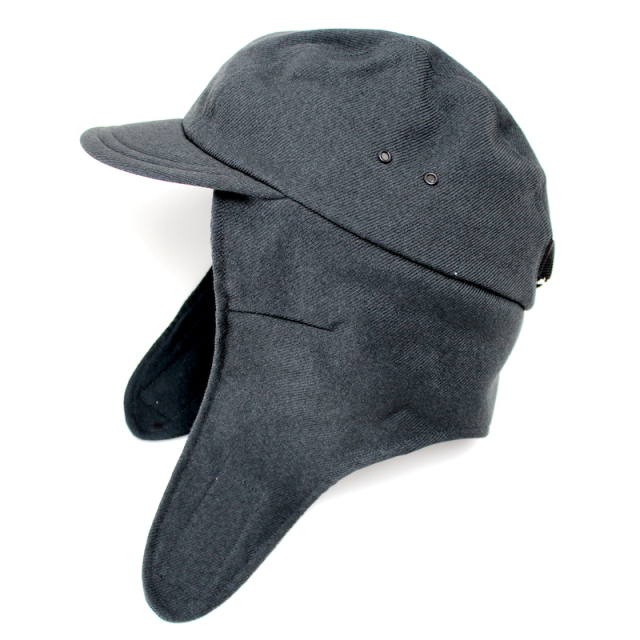 YSTRDY's TMRRW WOOLLY TWILL PHAT CAP CHARCOAL