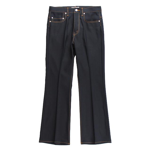 JIEDA FLARE PANTS BLACK