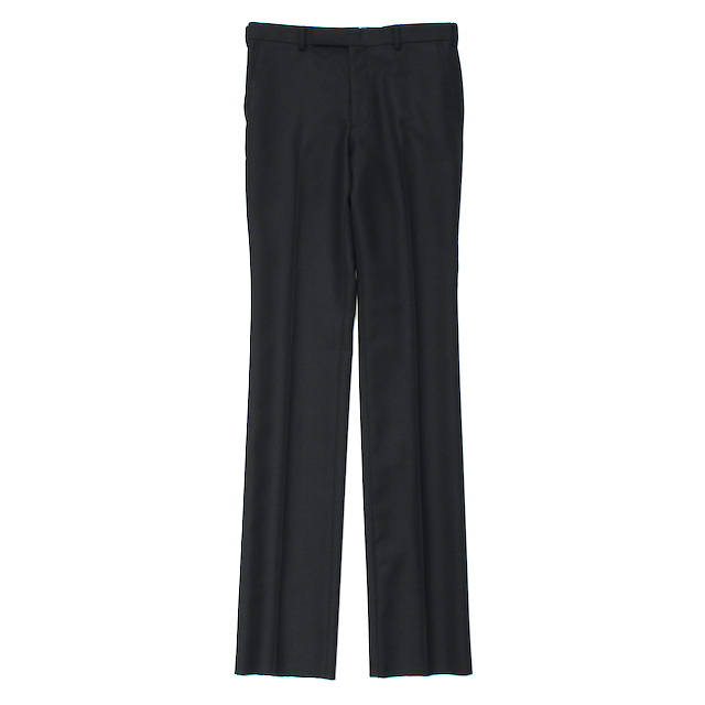 JOHNLAWRENCESULLIVAN STRAIGHT TROUSERS BLACK
