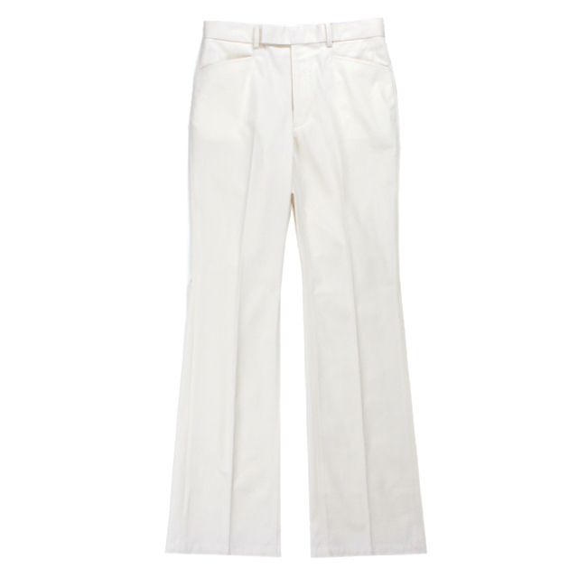 LITTLEBIG T/C BOOTCUT PANTS WHITE