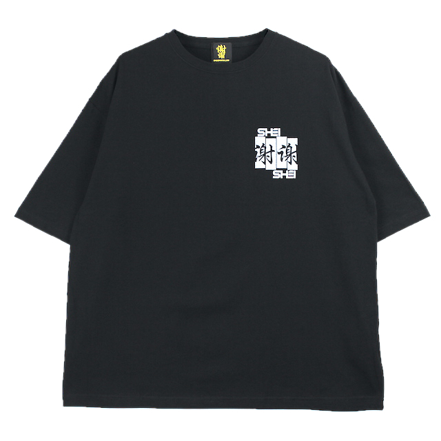 SHEI SHEI CO.LTD SHEI SHEI FRAG BIG TEE BLACK