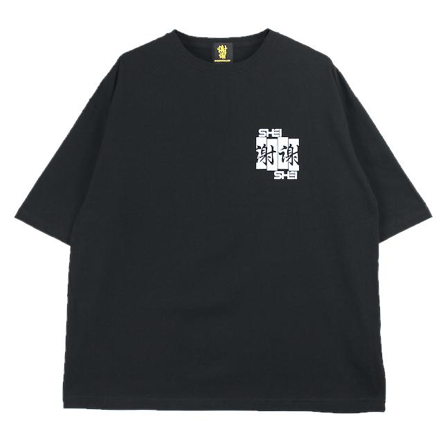 SHEI SHEI CO.LTD SHEI SHEI FRAG BIG TEE BLACK