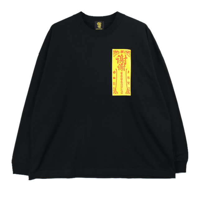 SHEI SHEI CO.LTD SHEI SHEI CIRCLE L/S TEE BLACK
