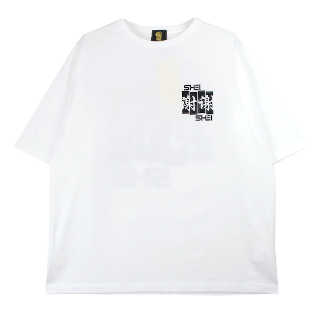 SHEI SHEI CO.LTD SHEI SHEI FRAG BIG TEE WHITE