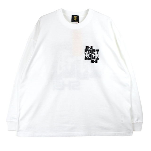 SHEI SHEI CO.LTD SHEI SHEI FRAG L/S TEE WHITE