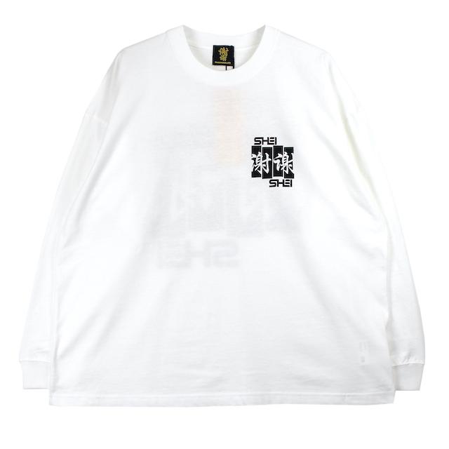 SHEI SHEI CO.LTD SHEI SHEI FRAG L/S TEE WHITE