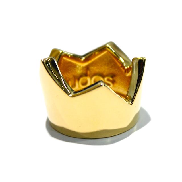 KUDOS × KOTA OKUDA CROWN'S RING GOLD