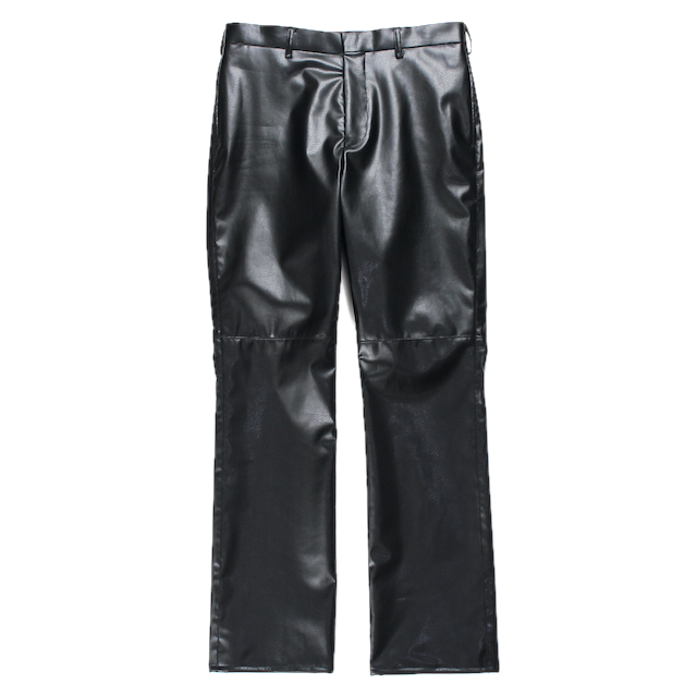 EPHEMERAL SYNTHETIC LEATHER PANTS BLACK