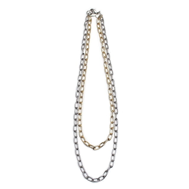 LITTLEBIG DOUBLE NECKLACE SILVER