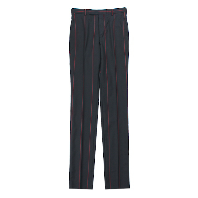 LITTLEBIG STRIPE SLIM TROUSERS BLACK