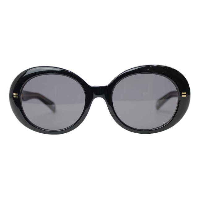 YSTRDY's TMRRW 金子眼鏡 YANKEE SUNGLASS BLACK