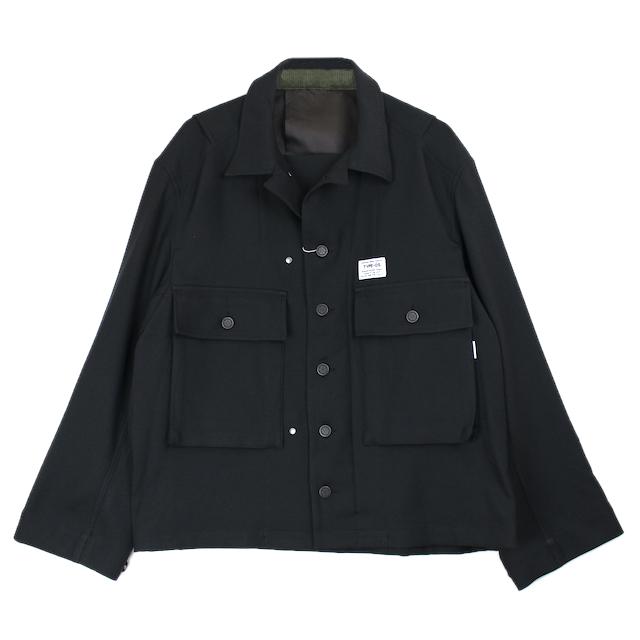 elephant TRIBAL fabrics HYBRID M43 JKT BLACK