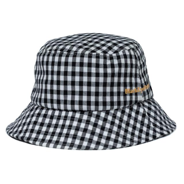 BlackEyePatch GINGHAM CHECK BUCKET HAT