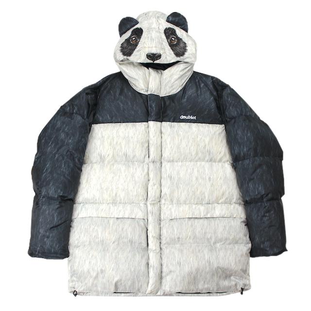 doublet ANIMAL COSTUME DOWN JACKET PANDA
