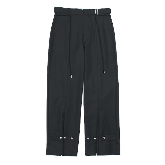 SYU.HOMME/FEMM NUSKATER PANTS TYPE PO BLACK