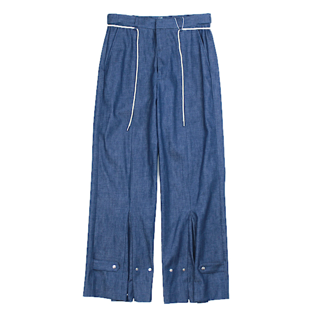 SYU.HOMME/FEMM NUSKATER PANTS TYPE DENIM BLUE