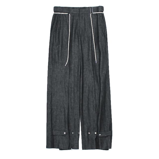SYU.HOMME/FEMM NUSKATER PANTS TYPE DENIM BLACK