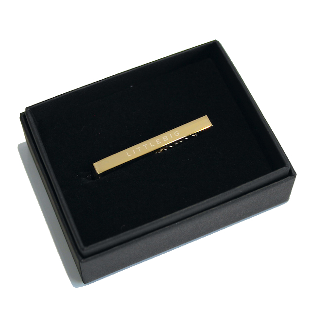 LITTLEBIG TIE BAR (LONG) GOLD