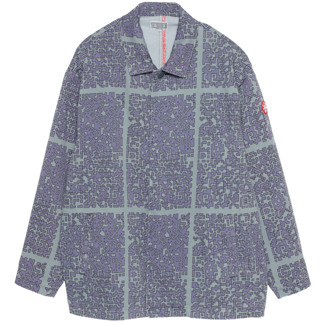 C.E/CAVEMPT SHORT BUTTON UP COAT
