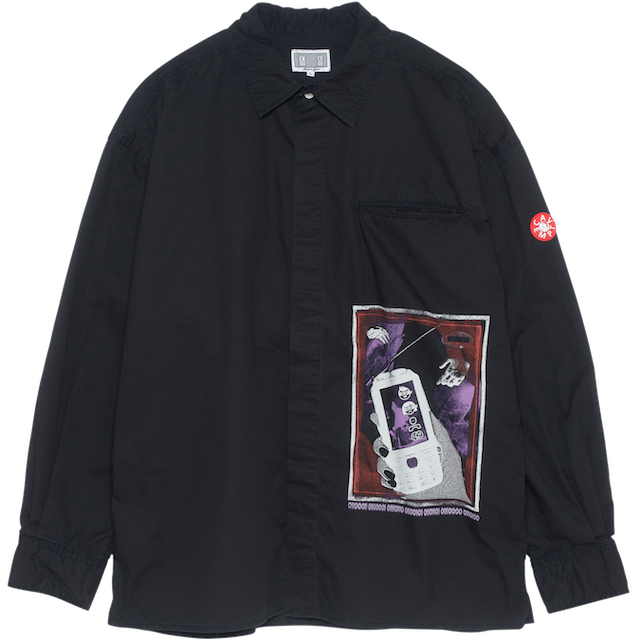 C.E/CAVEMPT 01100011 BIG SHIRT