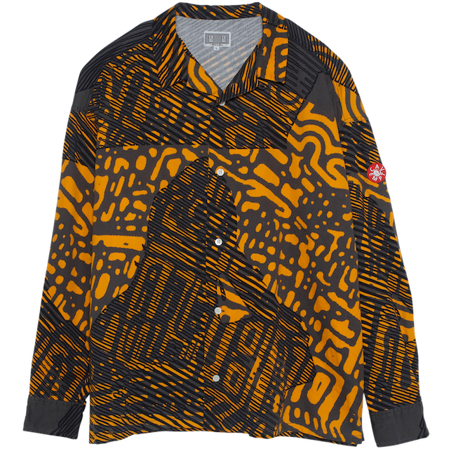 C.E/CAVEMPT SCAN LINE BIG SHIRT