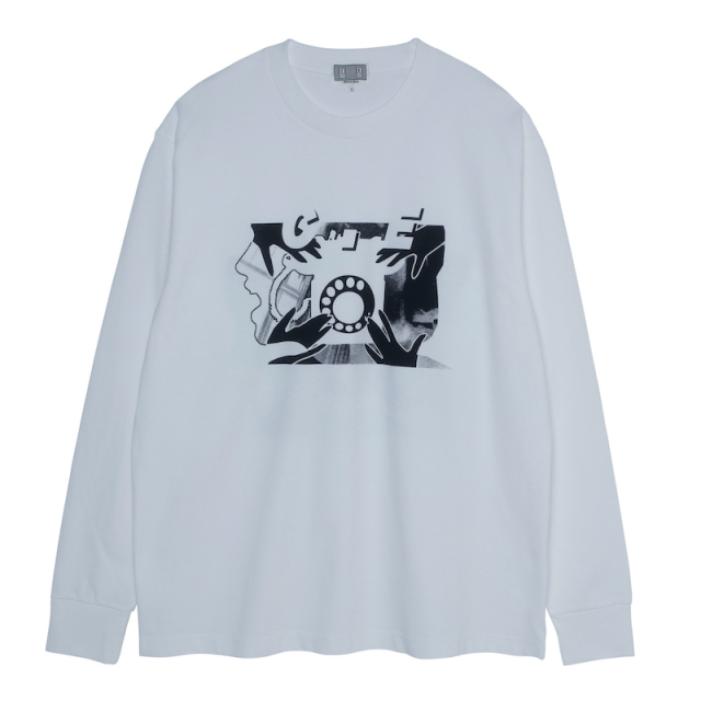 C.E/CAVEMPT ROTARY DIAL LONG SLEEVE T