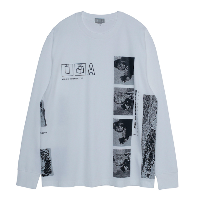 C.E/CAVEMPT POTENTIALITIES LONG SLEEVE T