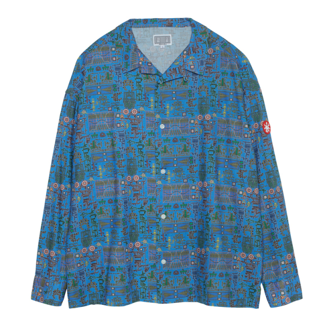 C.E/CAVEMPT MODULE BIG SHIRT