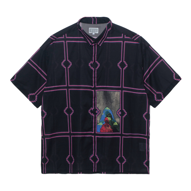 C.E/CAVEMPT FRAME SHORT SLEEVE SHIRT