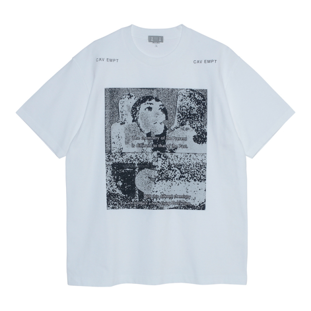 C.E/CAVEMPT LIVING ABSTRACTION T