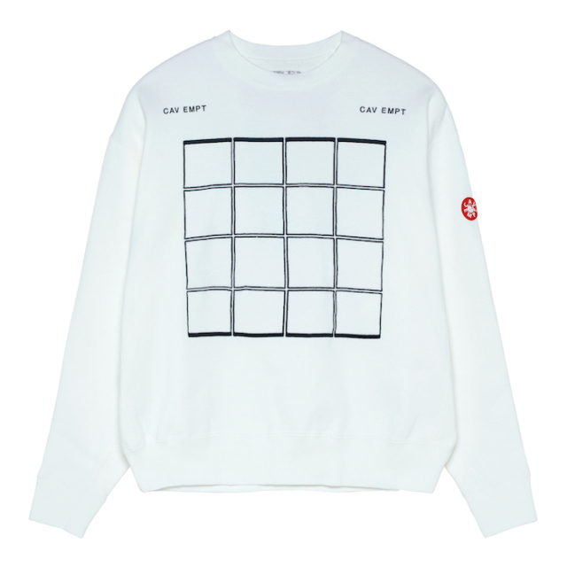 C.E/CAVEMPT WINDOW CREW NECK