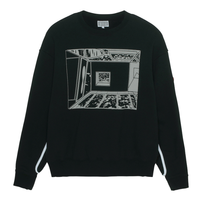 C.E/CAVEMPT UNBALANCE PROGRESS CREW NECK