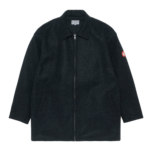C.E/CAVEMPT HEAVY WOOL ZIP JACKET
