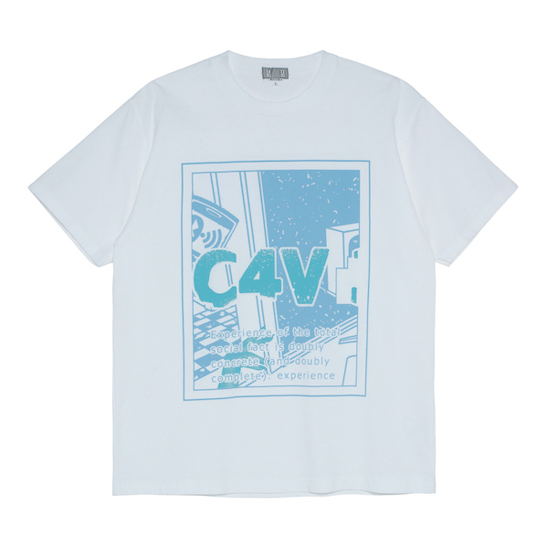 C.E/CAVEMPT C4V 3MPT T WHITE