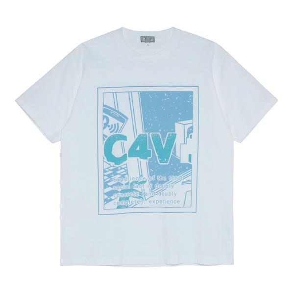 C.E/CAVEMPT C4V 3MPT T WHITE