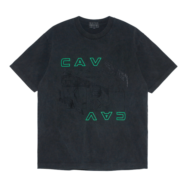 C.E/CAVEMPT THE BIOGRAPHY T CHARCOAL