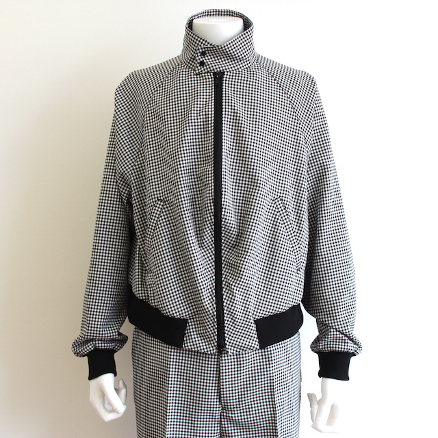 "NEONSIGN DADDY JACKET ""GINGHAM"""