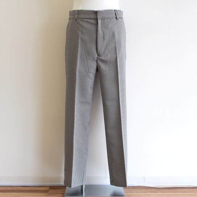 "NEONSIGN DADDY SLACKS ""GINGHAM"""
