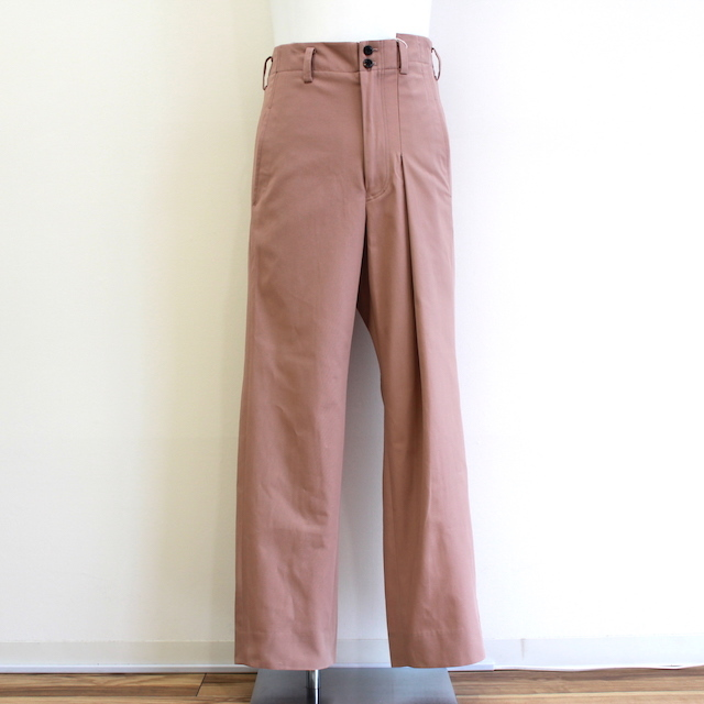 JIEDA 19SS-PT01 ASYMMETRY PANTS