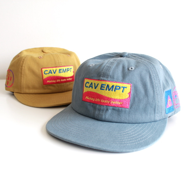 C.E/CAV EMPT TASTE BETTER LOW CAP 2カラー