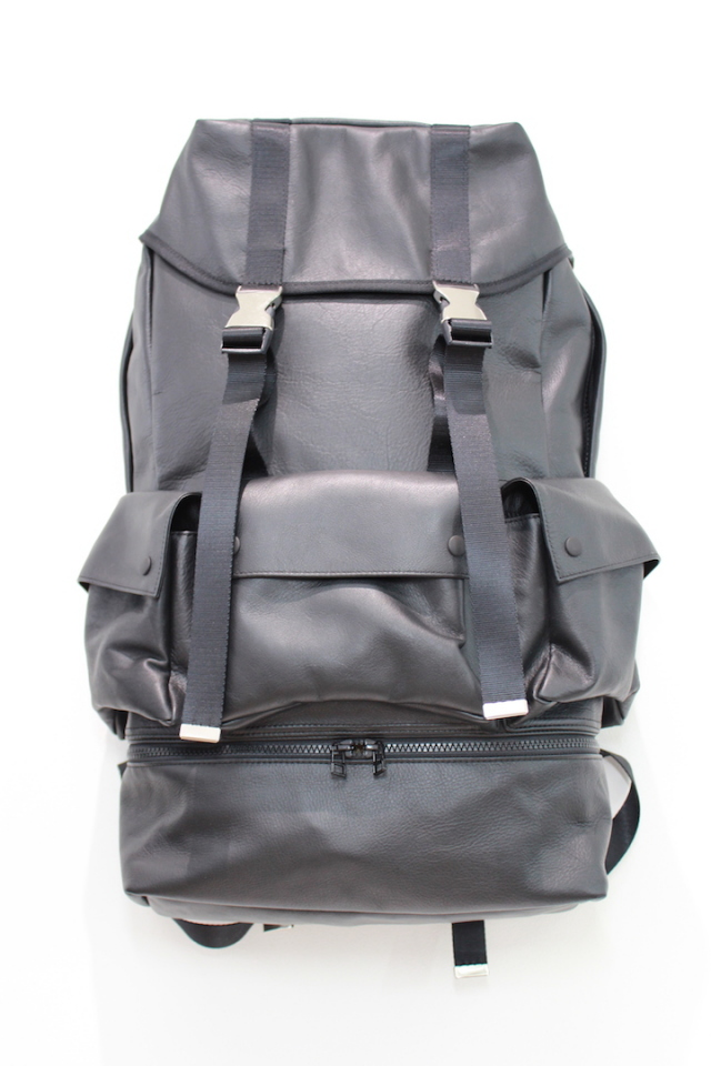 JOHNLAWRENCESULLIVAN 定番 JLS-08-07 LEATER BACKPACK