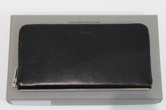 JOHNLAWRENCESULLIVAN 定番 JLS-08-04  ZIP ROUND WALLET