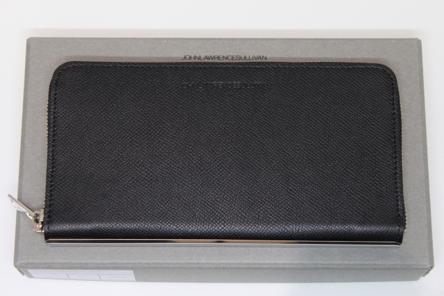 JOHNLAWRENCESULLIVAN 定番 JLS-08-03 ZIP ROUND WALLET