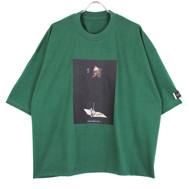 elephant TRIBAL fabrics FAT-T/004 GREEN